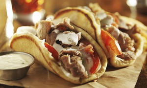 Acropolis Gyro House & Grille: $10 for Two Groupons, Each Good for $9 Worth of Greek Food at Acropolis Gyro House & Grille ($18 Value)