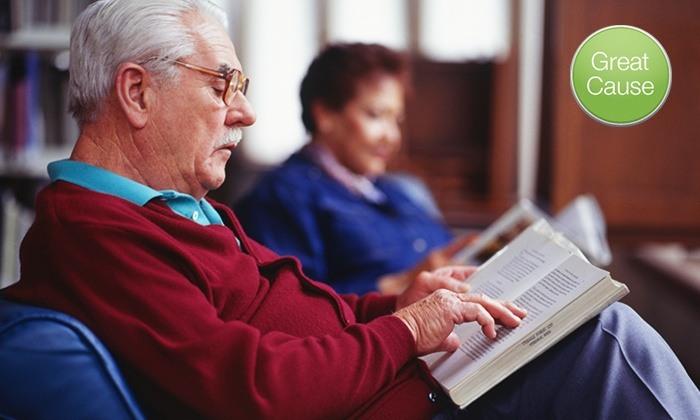 Arlington Public Library Foundation: $10 Donation to Help Bring Books to Homebound Seniors