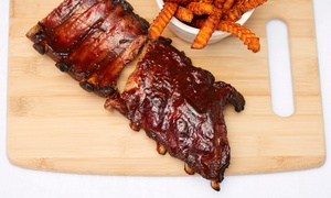 Red Lion BBQ & Pub: Appetizer and Two Drinks, or Barbecue and Bar Food During Lunch or Dinner at Red Lion BBQ & Pub (Up to 45% Off)
