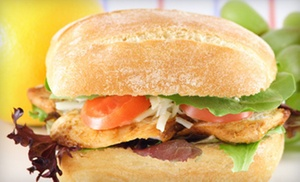 Cafe Veranda: $6 for $12 Worth of Salads, Pizza, Pasta, and Grilled Food at Cafe Veranda