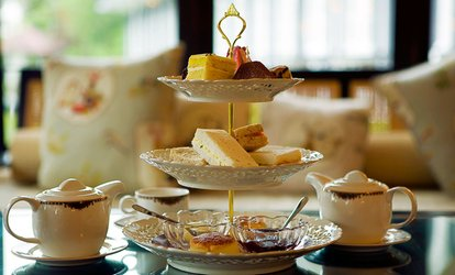 image for Afternoon Tea for Two of Four at The Old Barn Tearooms (Up to 50% Off)