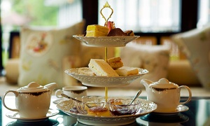 The Old Barn Tearooms: Afternoon Tea for Two or Four at The Old Barn Tearooms (Up to 52% Off)