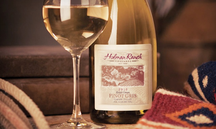 Holman Ranch - Carmel Valley Village: Wine Tasting with Take-Home Wine for Two or Four at Holman Ranch in Carmel Valley (53% Off)