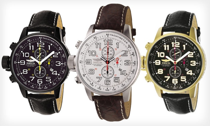 invicta men s i force watches groupon goods invicta men s i force lefty watches invicta men s i force lefty watches