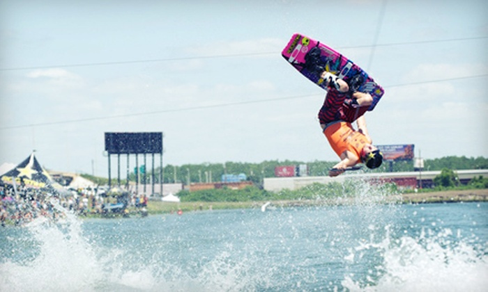 Nautique Wake Games - Orlando: Two or Four Tickets to Nautique Wake Games' King of Wake Event at Orlando Watersports Complex (Up to 57% Off)