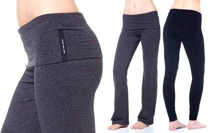 Marc NY Women's Performance Leggings or Rollover Waistband Lounge Pants for $22 or $24