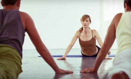 10 Yoga Classes - The Yoga Mat in Orange