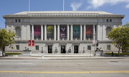 Active or Family Rhino Club Membership at Asian Art Museum (Up to 60% Off)