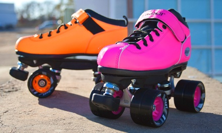 Roller Skating Package and Skate Rental and Snacks for Two, Four, or Six at The Fun Spot (Up to 71% Off)