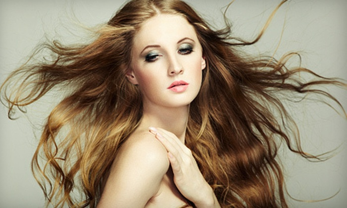 Hair Garden Salon - Westmont: $35 for Haircut Package with Style, Conditioner, and Scalp Massage at Hair Garden Salon in Westmont (Up to $85 Value)