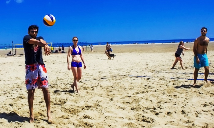 Off Limit Sports - The Beaches: Volleyball Registration for 1, 4, or 6 People from Off Limit Sports (Up to 52% Off). 12 Options Available.