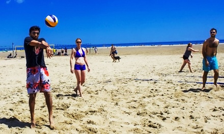 Volleyball Registration for 1, 4, or 6 People from Off Limit Sports (Up to 52% Off). 12 Options Available.