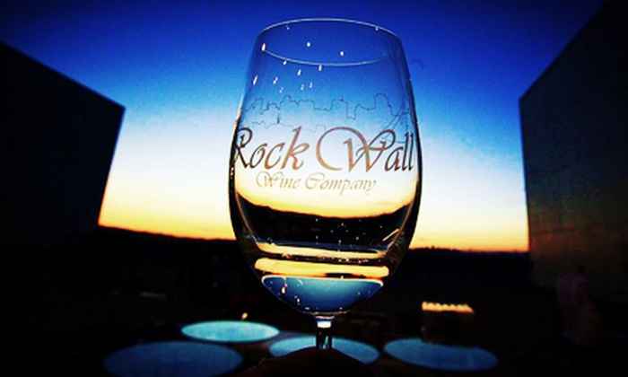 Rock Wall Wine Company - Alameda: $60 for Urban Paradise Wine-Tasting Event for Two at Rock Wall Wine Company ($140 Value)