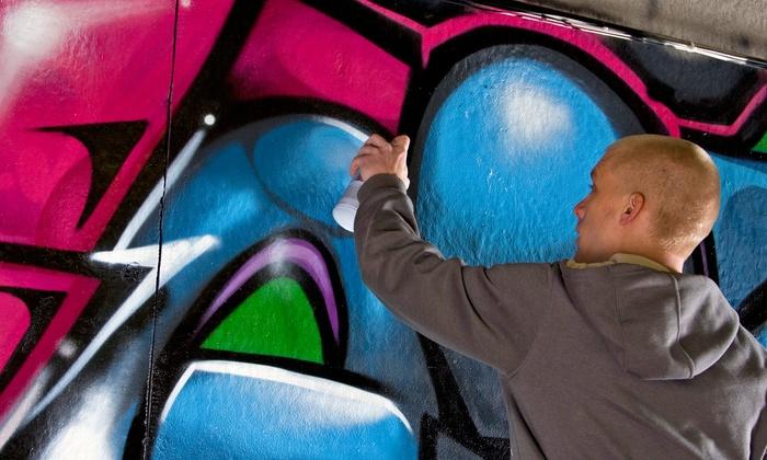 Live Graffiti Demo and Art Class - Brookland Artspace Lofts: Create Street Art with a Renowned Graffiti Artist