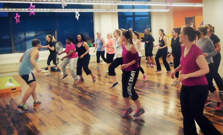 10 or 20 Cardio-Kickboxing, Zumba, Belly Dancing, Werq, or Piloxing Classes at B-fit (Up to 53% Off)