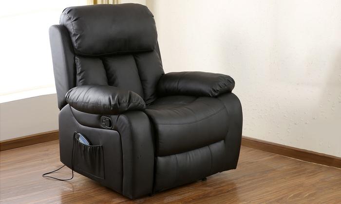 Etonnant Chester Heated Massage Chair ...