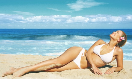 One or Three Airbrush Spray Tans at Montego Bay Tanning Co. (Up to 66% Off)