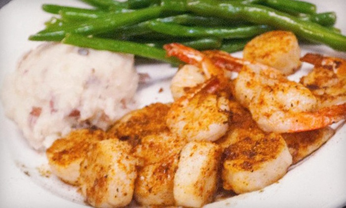 The Wreckfish - North Charleston: Seafood and Steak for Dinner or Lunch at The Wreckfish (Half Off)