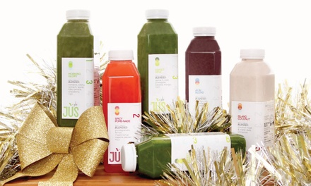 Three-Day Juice Cleanse for One or Two from Jus by Julie (Up to 36% Off). Shipping Included.