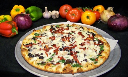 $12 for $20 Worth of Pizza and Hoagies for Two or More at Oley's Pepperoni Cannoli