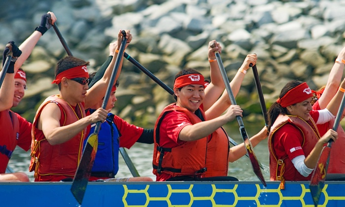 Dragon Zone Dragon Boat Paddling Club - Creekside Community Centre: Four-Week Introductory Boating Course for One or Two from Dragon Zone Dragon Boat Paddling Club (Up to 52% Off)