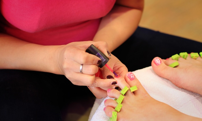 Spa Spot - Lakeview: Two No-Chip Manicures, Two Pedicures, or One Mani-Pedi at Spa Spot (50% Off)