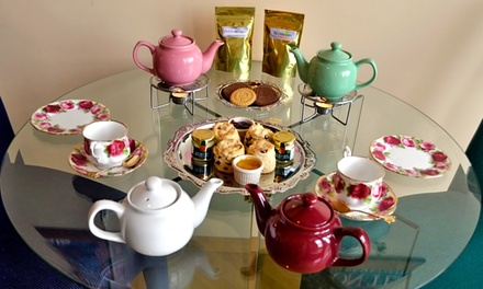 Tea Gift Box, Tea Tasting for One, or Afternoon Tea Party for Two at English Tealeaves (Up to 44% Off)