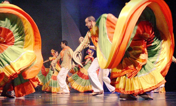 Ballet Folklórico de Antioquia, Colombia - St. Petersburg: $27 for One Ticket to Ballet Folklórico de Antioquia, Colombia in St. Petersburg on March 16 at 8 p.m. ($54 Value)