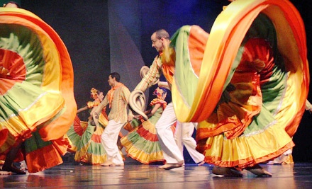 Ballet Folklorico de Antioquia, Colombia at The Mahaffey on Fri., March 16 at 8PM: Orchestra Seating - Ballet Folklorico de Antioquia, Colombia in St. Petersburg