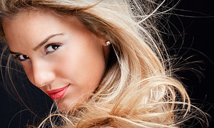 It's My Hair - La Sierra: Haircut with Optional Partial or Full Highlights, or Hair Extensions with Installation at It's My Hair (Up to 71% Off)