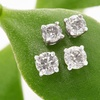 Up to 65% Off Onna Ehrlich Diamond Stud Earrings