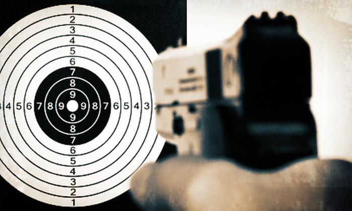 Horst & McCann - Bel Air North: Shooting-Range Package with Handgun Rental and Ammo for Two or Four at Horst & McCann in Bel Air (Up to 58% Off)