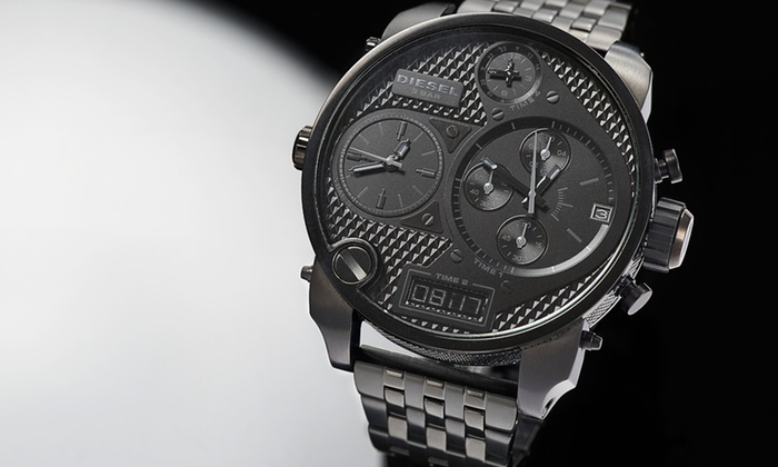 Diesel: $245 for a Diesel Men's Mr. Daddy Analog and Digital Chronograph Watch ($350 List Price). Free Shipping and Returns.