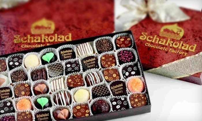 Schakolad Chocolate Factory - Downtown Fort Worth: Handmade Confections at Schakolad Chocolate Factory (Half Off). Two Options Available.