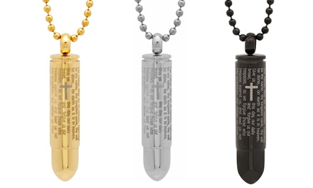 Bullet-Shaped Pendant with