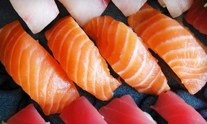 Pier Sushi - Springfield: $10 for $20 Worth of Asian Cuisine for Two or More at Lunchtime or Anytime at Pier Sushi