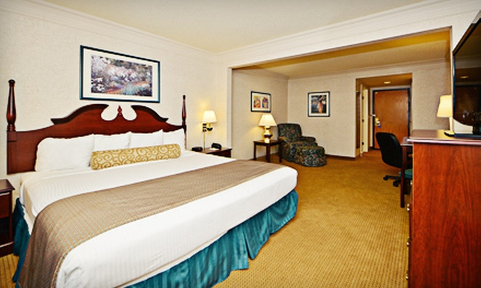 Best Western Regency Plaza Hotel - St. Paul East - Maplewood - Oakdale: Stay for Two at Best Western Regency Plaza Hotel – St. Paul East (Up to 52% Off). Four Options Available.