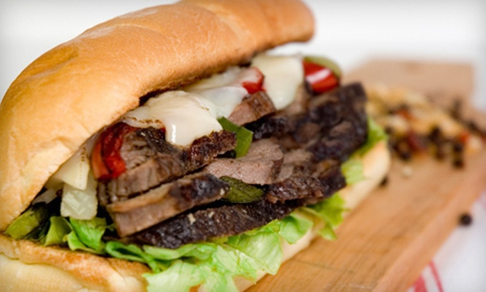 Mac's Philly Steaks - Multiple Locations: $6 for $12 Worth of Cheesesteaks and Hoagies at Mac's Philly Steaks