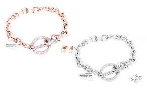 Set bracelet et boucles d'oreilles