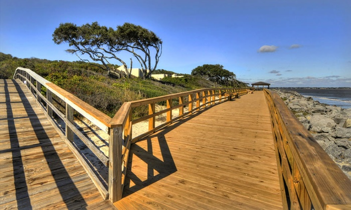 null - Jacksonville: Stay with Two Cruise Tickets at Villas by the Sea Resort on Jekyll Island, GA