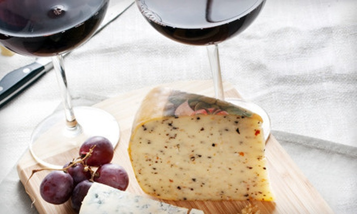 Kief-Joshua Vineyards - Elgin: $28 for a Winery Tour, Wine and Cheese Tasting, and Souvenir Glasses for Two at Kief-Joshua Vineyards ($56 Value)