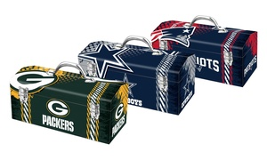 "Nfl 16"" Metal Toolbox"