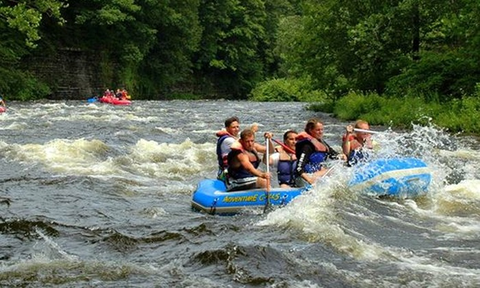Adventure Calls Outfitters, Inc. - Brown's Family Campground: SalmonRiverRafting Trip for Two or Four from Adventure Calls Outfitters, Inc. (50% Off)