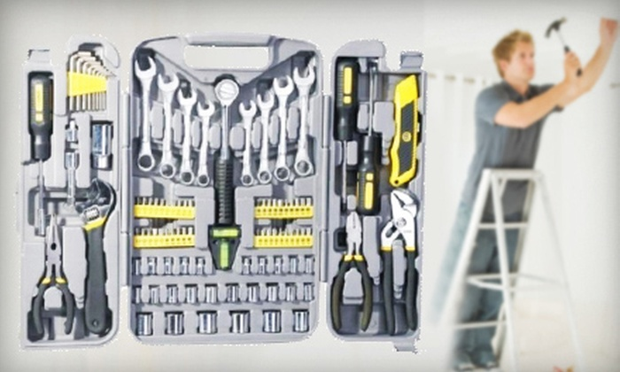 Elijah Creations: $49 for a 95-Piece Tool Set Combo from Elijah Creations ($189 Value)