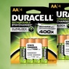 Duracell Stay-Charged Rechargeable AA Batteries
