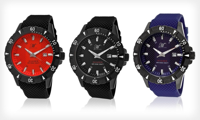 Magico Men's Invader Watch: $55 for a Magico Men's Invader Watch ($395 List Price). Nine Options Available. Free Shipping.