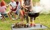 Fire Retardant BBQ Grill Floor Mat