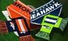 Denver Broncos or Seattle Seahawks NFL Wordmark Logo Scarf: Denver Broncos or Seattle Seahawks NFL Wordmark Logo Scarf. Free Returns.
