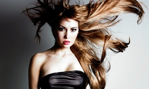 Tonya @ Shear FX : Haircut and Blowout with Optional Highlights with Tonya @ Shear FX (Up to 49% Off)