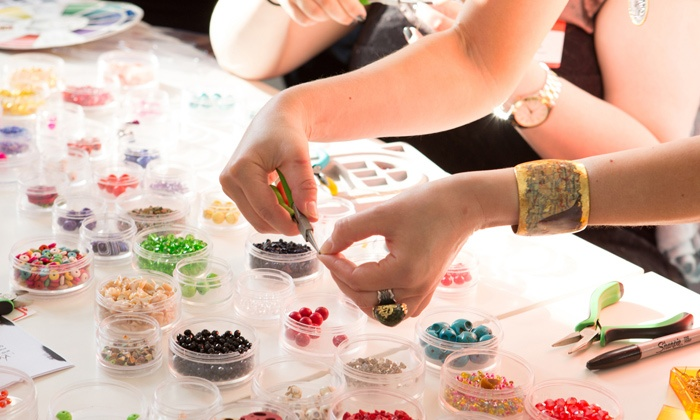 Modnitsa Atelier - Financial District: Jewelry-Making Class for One or Two at Modnitsa Atelier (Up to 51% Off). Three Options Available.